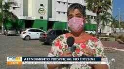 Agência do IDT/Sine volta com atendimento em Juazeiro do Norte