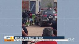 Presos em Davinópolis sete suspeitos pelo roubo de armas, drogas e dinheiro do Fórum de Ju