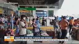 Goiás possui mais de 300 mil casos confirmados de Covid-19