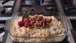 Ano Novo: chefe Thais dá receita de arroz festivo
