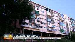 Com obra irregular, edifício corre risco de desabar em Vitória, diz Crea