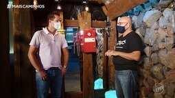Pedro Leonardo visita o passado do telefone
