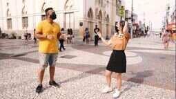 Hits do BBB21: Jamile e Menilson conferem se a galera está atenada nos sucessos do reality