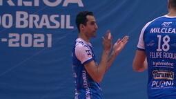 As provocações de Willian e Douglas Souza durante final entre Minas e Taubaté