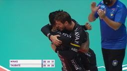 Melhores momentos: Minas 0 x 3 Taubaté pela final da Superliga masculina de vôlei
