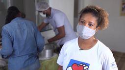 Fabine Mota fala das iniciativas do projeto social Patrulha do Bem