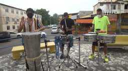 Conheça a história dos irmãos percussionistas Ariel, Gabriel e Rafael Rangel