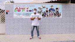Menilson Filho visita a Creche Ação Solidária Almir do Picolé