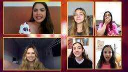 Paranaenses do 'The Voice Kids' batem papo com Isadora Markus
