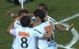 Os gols de Santos 2 x 1 Peñarol pela Final da Libertadores 2011