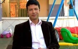 O repórter César Menezes fala sobre o Criança Esperança