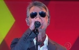 Richie se apresenta na abertura do Programa do J