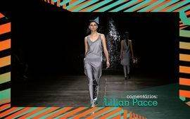 Lilian Pacce comenta o 5 dia do SPFW