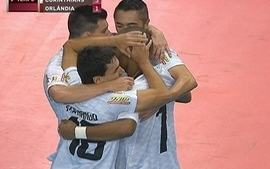 Os gols de Corinthians 3 x 2 Orlndia pela Liga Futsal