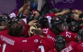 Em final emocionante, Canadá bate Estados Unidos e conquista ouro no hóquei feminino