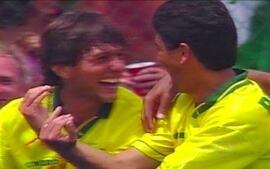Bebeto e Leonardo relembram momentos marcantes da Copa de 94