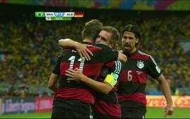 Os gols de Brasil 1 x 7 Alemanha pelas semifinais da Copa da Mundo