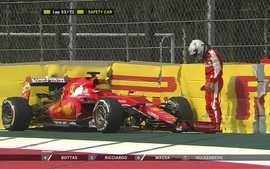 Vettel faz corrida desastrosa no México