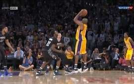 Kobe Bryant marca 38 pontos na vitória dos Lakers sobre o Minnesota Timberwolves