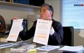 Executivo de empresa de Neymar mostra documentos para defender o jogador