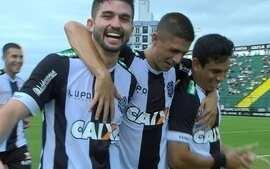 Os gols de Figueirense 2 x 1 Atlético-MG pela 2ª rodada do Grupo C da Primeira Liga