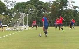 Sport treina forte na terça-feira de carnaval para jogo contra o Central