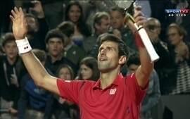Djokovic vence Bellucci de virada, com 2 sets a 1, pelo Master 1000 de Roma