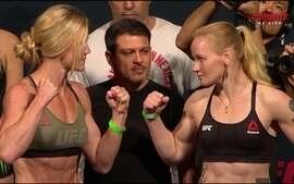 Holly Holm e Valentina Shevchenko passam pela pesagem do UFC: Holm x Shevchenko