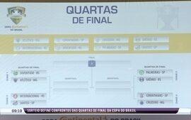 Confira o sorteio dos confrontos das quartas de final da Copa do Brasil
