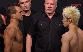 Rani Yahya e Michinori Tanaka passam pela pesagem do UFC: Brasília