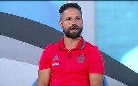 """Confira a participação do meia Diego, do Flamengo, no programa """"Bem, Amigos!"""""""
