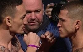 Max Holloway e Anthony Pettis se encaram pelo peso-galo no UFC 206
