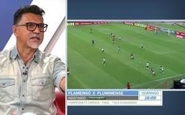 Ricardo Rocha vê jogadores do Flamengo com sangue nos olhos
