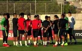 Seleção se apresenta e faz primeiro treino no retorno de Tite ao CT do Corinthians