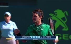 Federer vence Del Potro no Masters 1000 de Miami