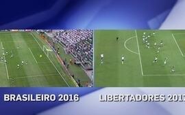 Palmeiras repete na Libertadores gol de jogada ensaiada do Brasileirão 2016
