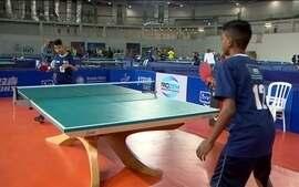 Parque Olímpico no Rio recebeu o Campeonato Estadual Escolar de Tênis de Mesa