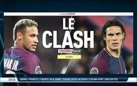 Le Clash: Neymar e Cavani não estão se entendendo no PSG