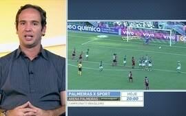Caio Ribeiro compara Egídio no Palmeiras com Zé Ricardo no Flamengo