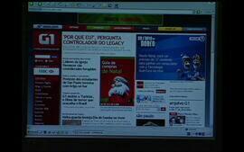 Jornal da Globo: acidente com o aviao da Gol (2006)