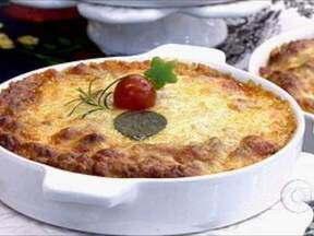 Lasanha de Batatas (Batatas à Bolonhesa) - Foto de Mais Você na TV