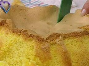 Pão de Ló de Ovar - Foto de Mais Você na TV