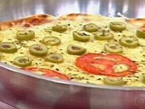 Pizza de Frigideira - Foto de Mais Você na TV