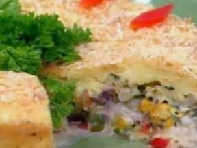 Torta Salgada Diferente - Foto de Mais Você na TV