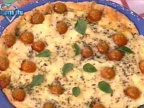 Pizza de Ovo - Foto de Mais Você na TV