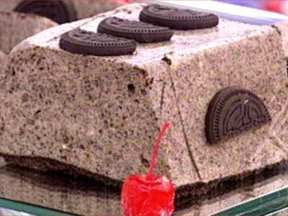Gelado de Biscoito - Foto de Mais Você na TV