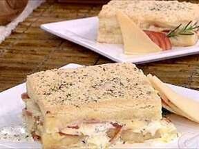 Pão de Queijo na Assadeira - Foto de Mais Você na TV