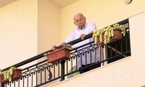 Grego de 97 anos é testemunha há 60 anos de estudos sobre a dieta de Creta