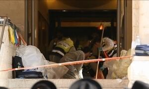 Israel aumenta a segurança em Jerusalém Oriental depois do atentado contra uma Sinagoga