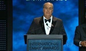 Roberto Irineu Marinho recebe Emmy de Personalidade Mundial da TV